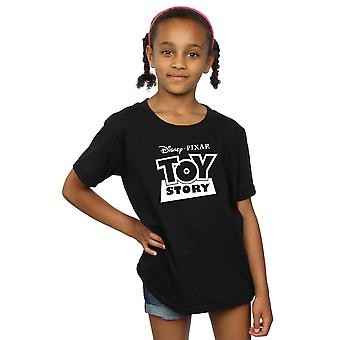Disney Girls Toy Story Logo Outline T-Shirt