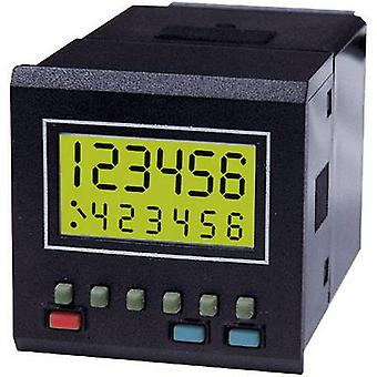 Trumeter 7932 Counter modules 79 series Assembly dimensions 45 x 45 mm