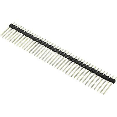 Pin strip (standard) No. of rows: 1 Pins per row: 40 Connfly 1390110 1 pc(s)