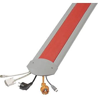 Cable bridge TPE (low-odour thermoplastic elastomer ) Light grey, Red No. of c