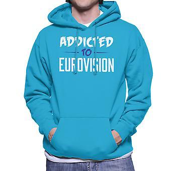 Beroende av Eurovision mäns Hooded Sweatshirt