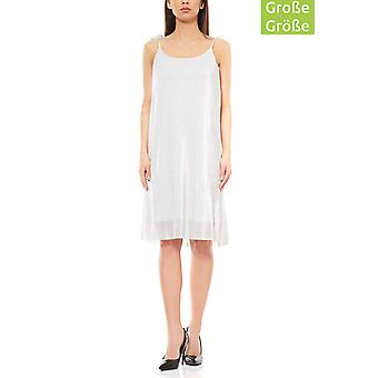 Aniston knee-length cocktail dress mini dress silver plus size
