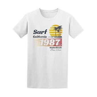 California Surf Retro-1987 Venice Beach Tee - Bild von Shutterstock