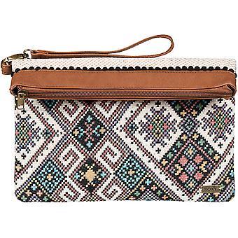 Roxy väska missbrukare Faux läder plånbok