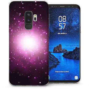 Samsung Galaxy S9 Plus Space Shining Light TPU Gel Case - Black