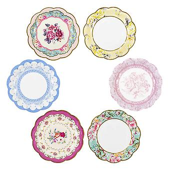 Talking Tables Truly Scrumptious Vintage Paper Plates x 12