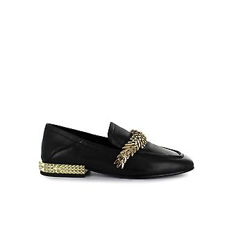 ASH EDGY BLACK LOAFER