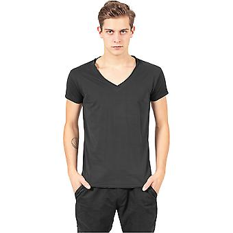 Urban classics t-shirt montato Peached bordo aperto