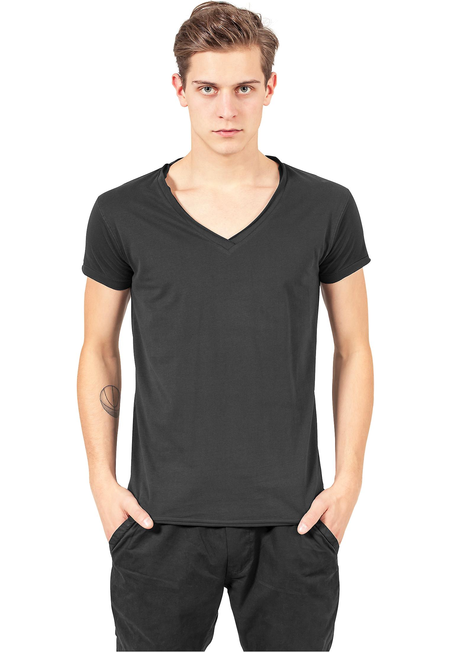 Urban classics T-Shirt fitted Peached open edge