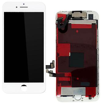 For Apple iPhone 8 4.7 inch all in one display LCD complete unit touch panel white pre-assembled (without HB)
