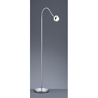 Trio Lighting Baloubet Young Living Chrome Plastic Floor Lamp