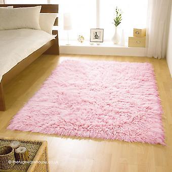 Flokati Pink Rug