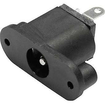 econ connect DC17JD20 Low power connector Socket, vertical vertical 2 mm 1 pc(s)