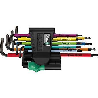TORX socket, TORX BO Allen key set 9-piece Wera 967 SPKL/9 Multi
