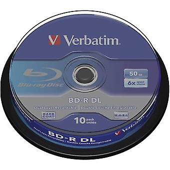 Blank Blu-ray BD-R DL 50 GB Verbatim 43746 10 pc(s)