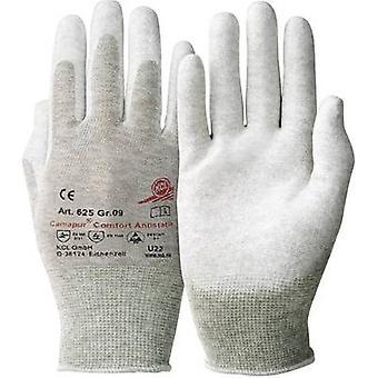 KCL Camapur Comfort Antistatik 625 Polyamide Protective glove Size (gloves): 9, L EN 16350:2014-07 CAT II 1 pair