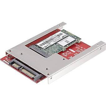 GBIC [1 x SATA stik 22-pin - 1 x mSATA socket] Renkforce