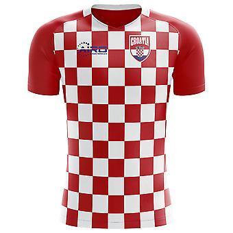 2018-2019 Croatie drapeau Concept maillot de foot