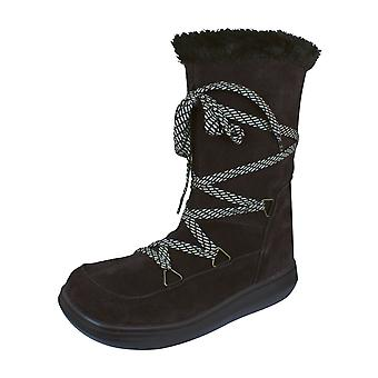 Rocket Dog Snowcrushed Womens Suede Winter Boots - Chocolate