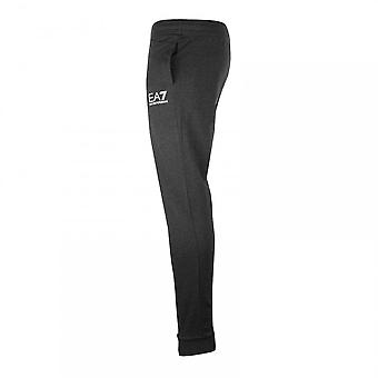 EA7 Mens Small Logo Joggers (Carbon)