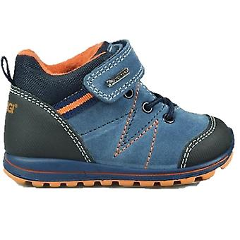 Primigi Boys 2374500 PTIGT 23475 Gore-tex Boots Blue Orange