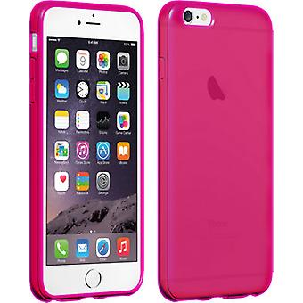Verizon High Gloss Silicone Case for iPhone 6 Plus/6s Plus - Pink