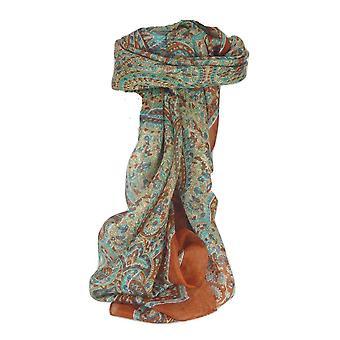 Amoreira seda tradicional lenço quadrado Zorn cobre por Pashmina & seda