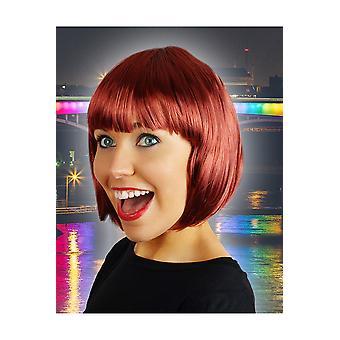 Wigs  Bob Wig SophiaDark red