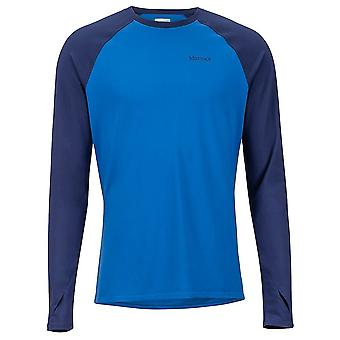 Marmot Lightweight Kestrel LS Crew 109103691 universal all year men t-shirt