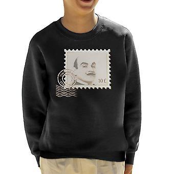 Poirot stempel Vintage detektiv barneklubb Sweatshirt