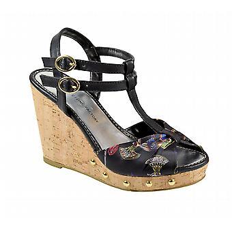 Waooh - Sandal Compensated Effect Croco Mirea