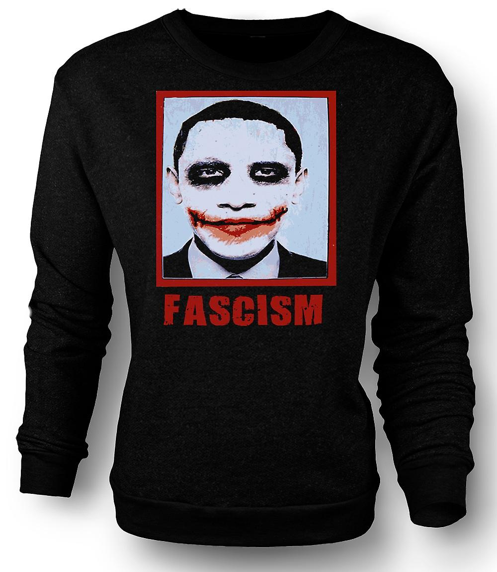 Heren Sweatshirt Obama fascisme