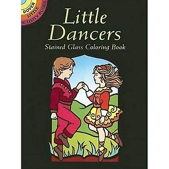 Petits danseurs vitraux coloriages