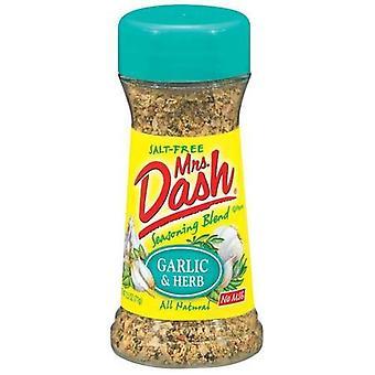 Fru Dash hvitløk & urt Salt uten krydder blanding