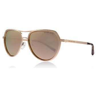 Michael Kors MK1036 11085A Rose Gold Madrid Piloten Sonnenbrille Objektiv Kategorie 3 Objektiv gespiegelten Größe 57mm