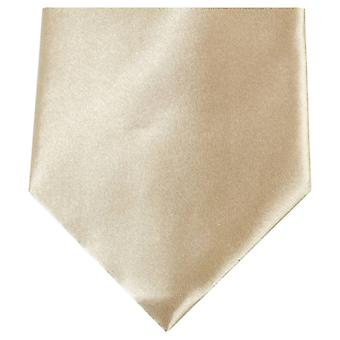 Knightsbridge Neckwear Regular Polyester Tie - Light Gold