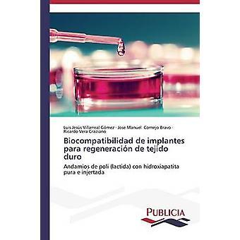 Biocompatibilidad de implantes para regeneracin de tejido duro by Villarreal Gmez Luis Jess