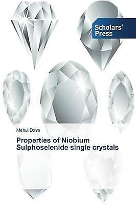Properties of Niobium Sulphoselenide single crystals by Dave Mehul