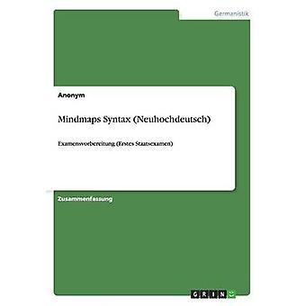 Mindmaps Syntax Neuhochdeutsch by Anonym