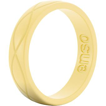 Enso Rings Women's Infinity Series Silicone Ring - Pollen