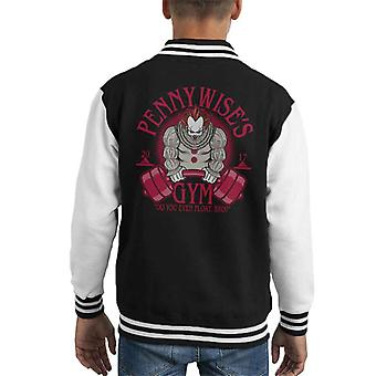 Pennywise Gym It Do You Even Float Bro Kid's Varsity Jacket