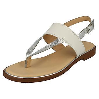 Clarks Дамы стильный пост носок сандалии Эллис опал