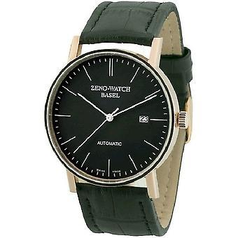 Zeno-watch montre Bauhaus automatique rouge 18ct or 4636-RG-i1