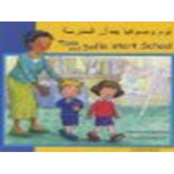 Tom and Sofia Start School in Arabic and English by Henriette Barkow
