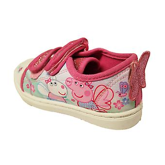 Peppa Pig Girls Morcheka Touch Close Trainer Shoes