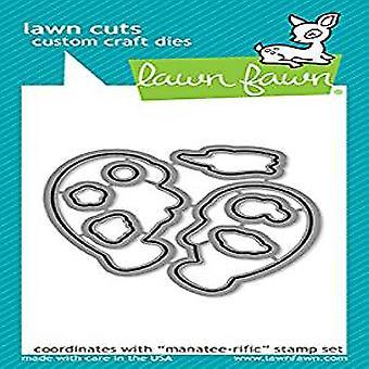 Lawn Fawn Manatee-rific Dies (LF1689)