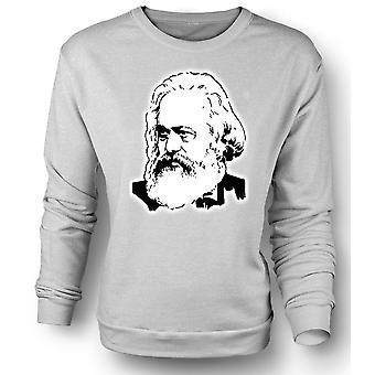 المرأة البلوز كارل ماركس-الرمز