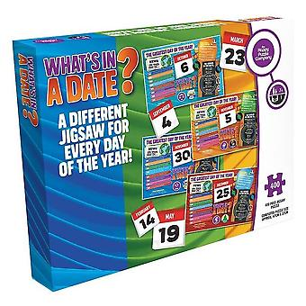 What's In A Date? **27th July** 400 Piece Jigsaw Puzzle 470mm x 320mm (hpy)