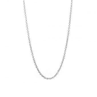 Eternity Sterling Silver 20'' Micro Belcher Chain