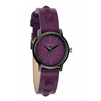 Nixon il Kenzi in pelle Bordeaux / borchie (A3981812)
